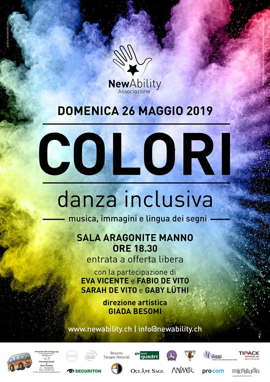 """Associazione NewAbility – spettacolo di fine anno """"COLORI"""""""